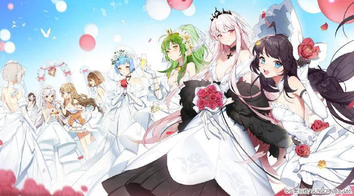 《少女前线》白色情人节主题未闻花语壁纸原图下载
