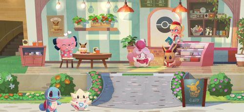《宝可梦缤纷咖啡店》将于6 月24 日推出可爱宝可梦登场