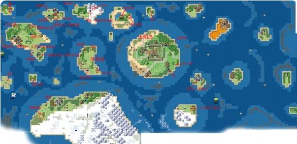 《大千世界》游戏地图位置介绍