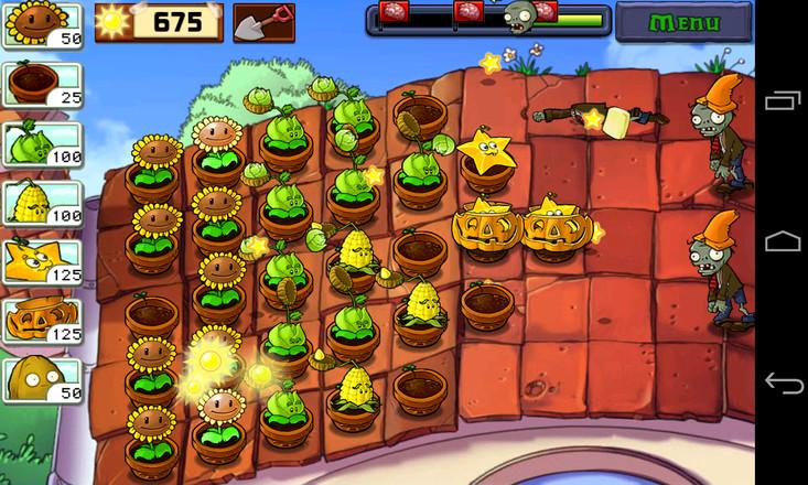 植物大战僵尸1老版本手游app截图