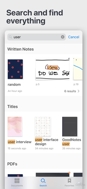 GoodNotes 手机软件app截图