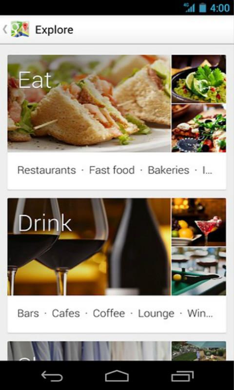 谷歌地图鸿蒙版手机软件app截图