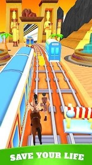 运行地铁竞赛手游app截图