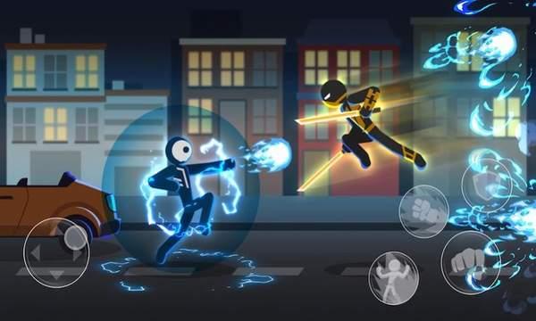 火柴人超人格斗3D手游app截图