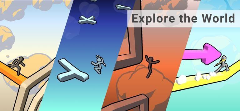 空中跳跃跑酷手游app截图