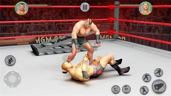超级巨星摔跤格斗手游app截图