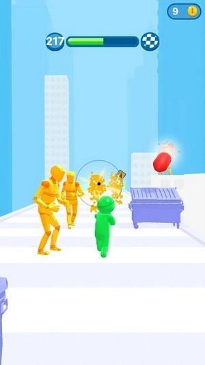跑步者射手3D手游app截图